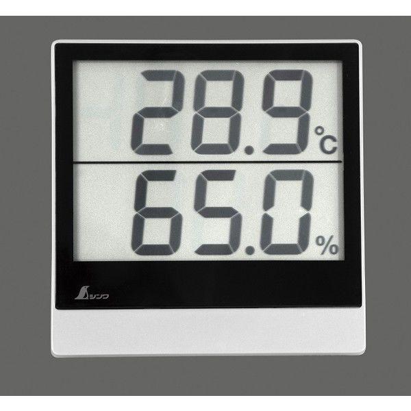 シンワ測定 デジタル温湿度計 Smart A 73115 1セット(5個) (直送品)
