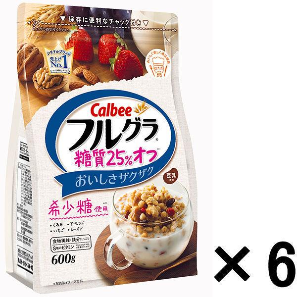 フルグラ 糖質25%オフ 600g 6袋