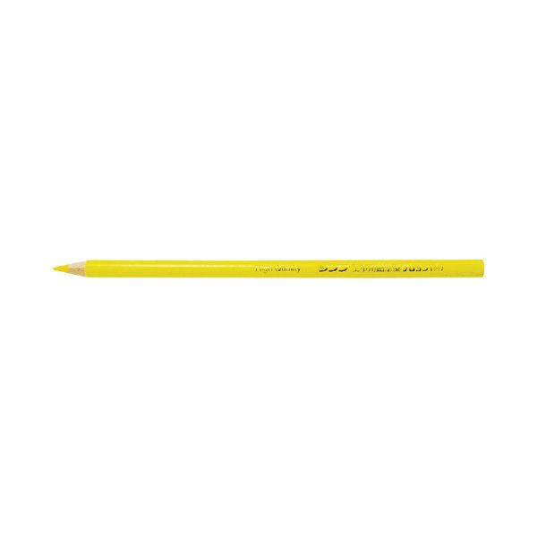 工事用 鉛筆型クレヨン 黄 3本入 78442 1セット(10個) シンワ測定 (直送品)