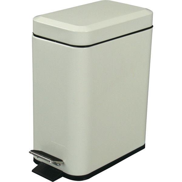 東谷 ゴミ箱 フォッサ LFS-076IV アイボリー 1台 (直送品)