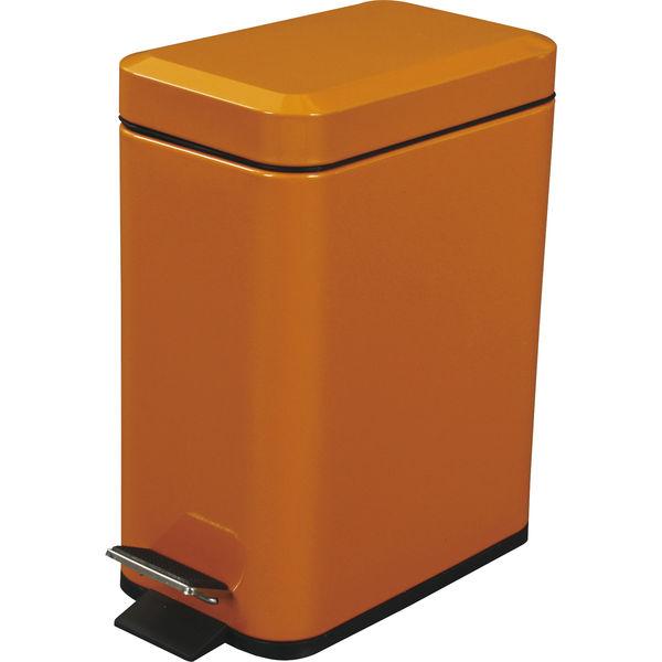 東谷 ゴミ箱 フォッサ LFS-076OR オレンジ 1台 (直送品)