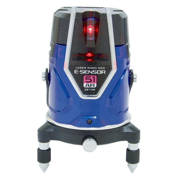 レーザーロボ Neo E Sensor 51AR フルライン・地墨 71506 シンワ測定 (直送品)