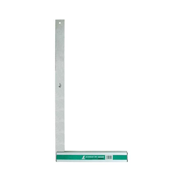 アルミ台付スコヤ 60cm 目盛なし 74117 1セット(2個) シンワ測定 (直送品)
