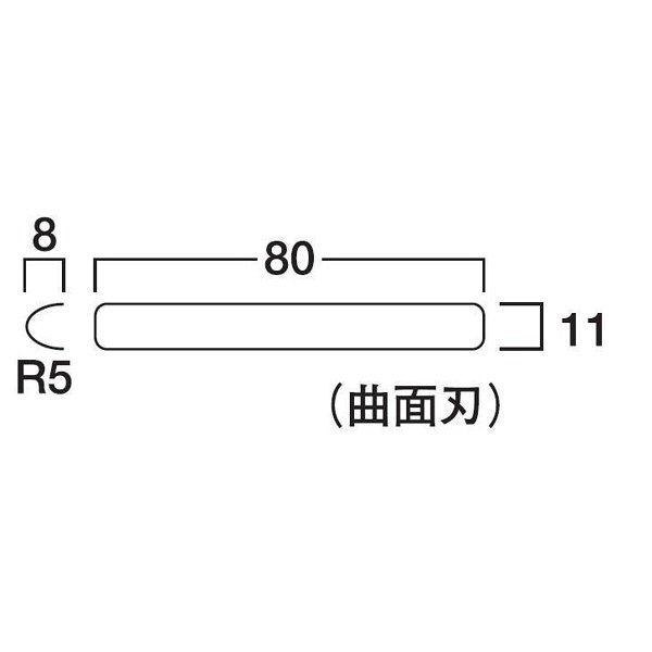 サンダーR5型替刃 細目 SAB-R5S 1セット(20枚) TJMデザイン (直送品)