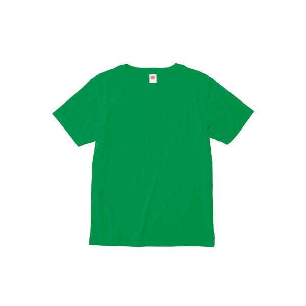 ボンマックス 介護ユニフォーム ハイブリッドTシャツ MS1147 Vグリーン XS 1枚 (直送品)