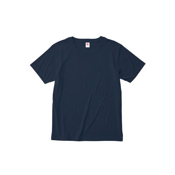 ボンマックス 介護ユニフォーム ハイブリッドTシャツ MS1147 ネイビー M 1枚 (直送品)