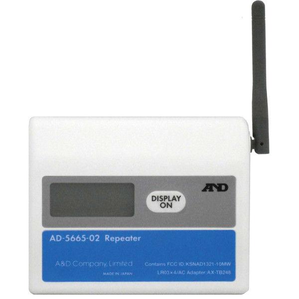 ZigBeeワイヤレス温湿度計測システム 中継機 AD-5665-02 エー・アンド・デイ (直送品)