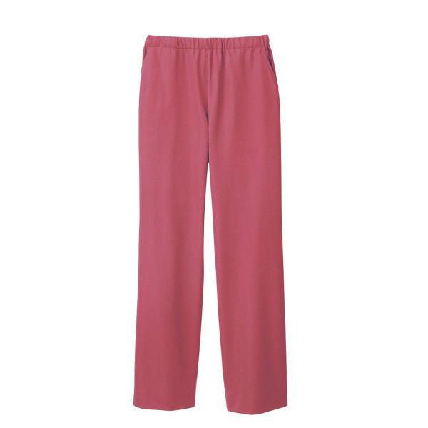 住商モンブラン 男女兼用パンツ スクラブパンツ 医療白衣 ローズレッド LL 72-1636 (直送品)