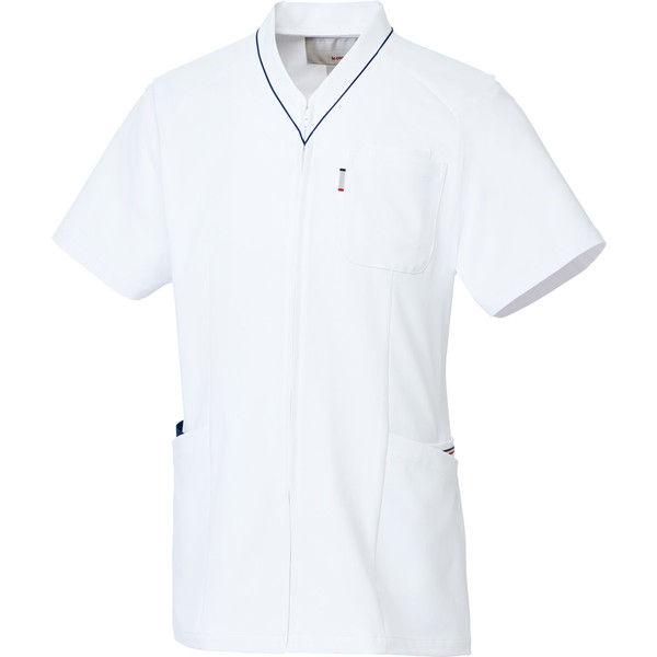 ルコックスポルティフ 医療白衣 ユニセックスVネックスクラブ UQM1525 ネイビー S 1枚 (直送品)