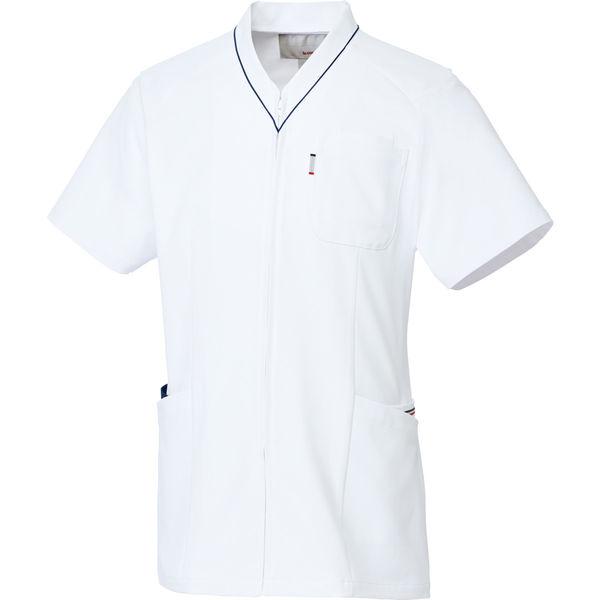 ルコックスポルティフ 医療白衣 ユニセックスVネックスクラブ UQM1525 ネイビー L 1枚 (直送品)