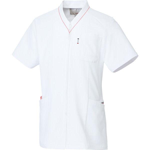 ルコックスポルティフ 医療白衣 ユニセックスVネックスクラブ UQM1525 ピンク SS 1枚 (直送品)