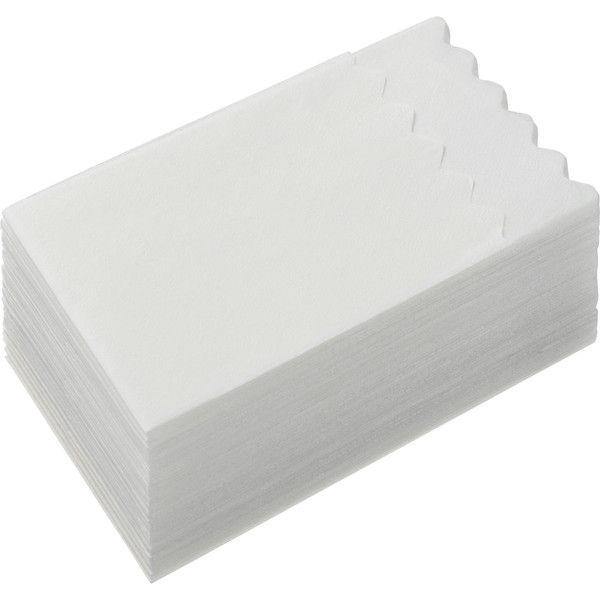 波型6つ折りナプキン白無地 10000枚