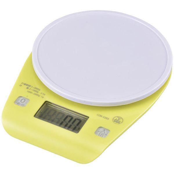 デジタルクッキングスケール最大計量2kg