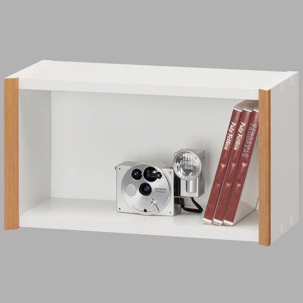 794ae4d900 アスクル】白井産業 シンプル箱型壁掛けラック 幅422mm×高さ239mm ...