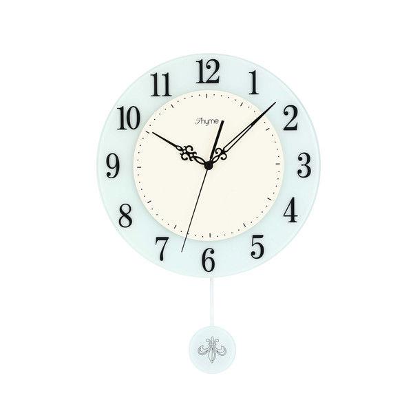 タイム ガラススロースイング振り子時計