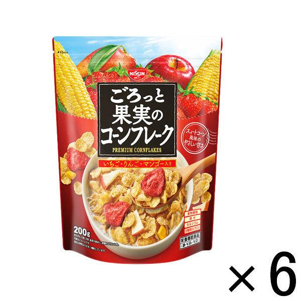 ごろっと果実のコーンフレーク 6袋
