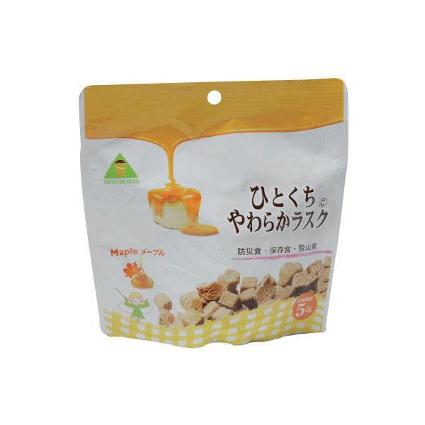 東京ファインフーズ ひとくちやわらかラスク・メープル 101042 1ケース(32袋入)(直送品)
