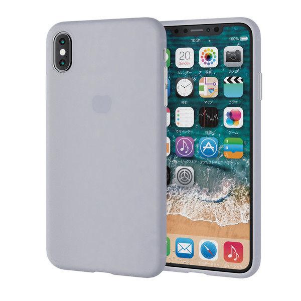 7d90a8b3e4 アスクル】エレコム iPhone XS Max/シリコンケース/クリア PM-A18DSCCR 1 ...