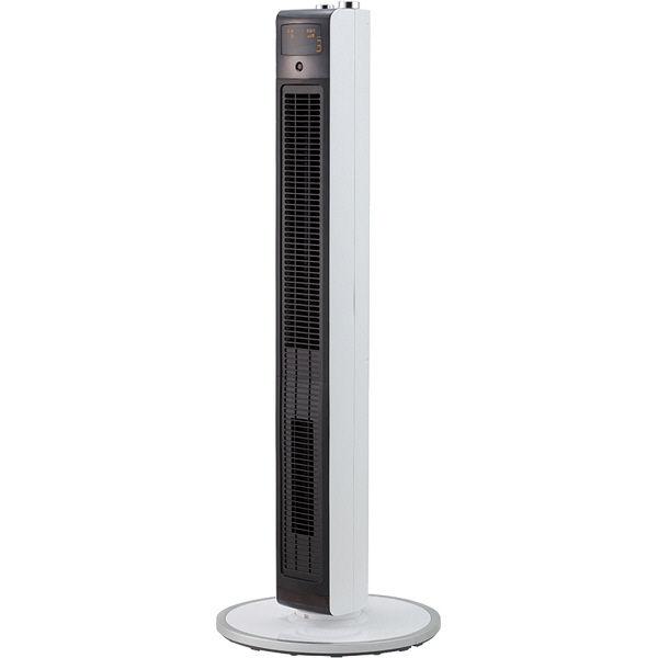 小泉成器 送風機能付ファンヒーター DCタイプ ホワイト KHF1286W 1台  (直送品)
