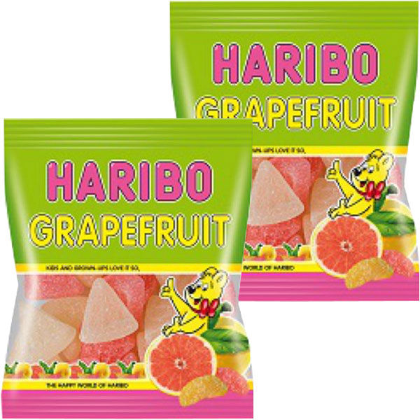 ハリボー グレープフルーツ 2袋