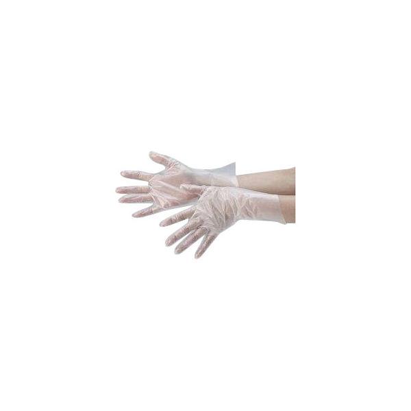 東京パック ニュージャストヘルパーグローブ600 粉なし Lサイズ ポリエチレン 1ケース(6000枚:600枚入×10箱)(使い捨てグローブ)(直送品)