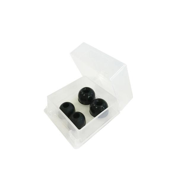 ケンツメディコ(KENZMEDICO) バイタルナビ聴診器 交換用部品 ソフトイヤピースセット ブラック 1138F511 1箱 7-3852-05(直送品)