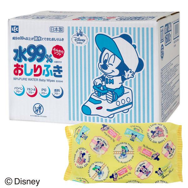 ミッキー&ミニーおしりふき80枚×20個