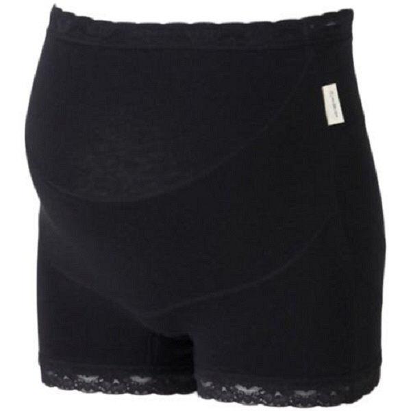 らくばきパンツ妊婦帯 ブラック L