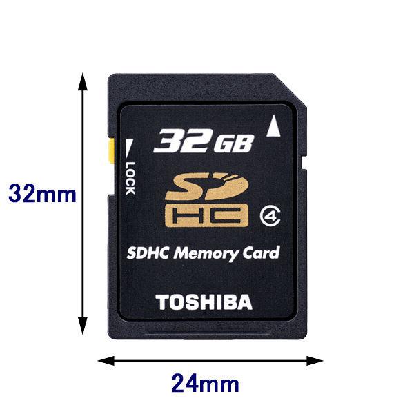 東芝 32GB SD-L032G4