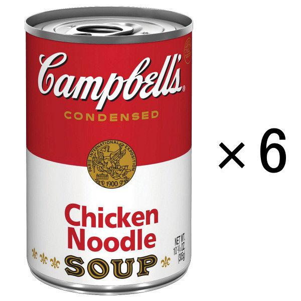 キャンベルチキンヌードル6缶