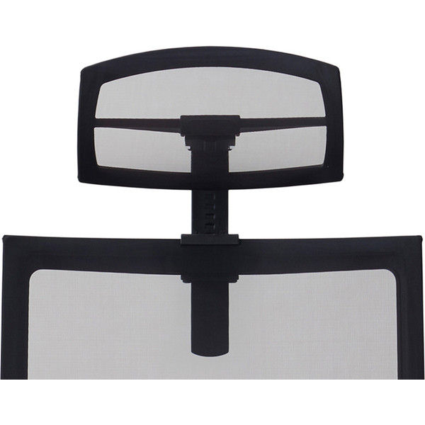 関家具 オフィスチェア Airs headrest BKメッシュヘッドレスト ブラック 238202 1個(直送品)