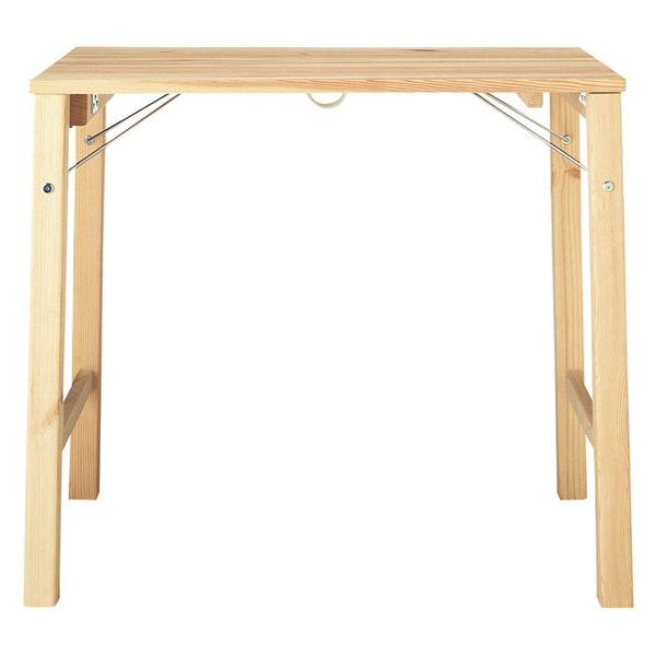無印良品「パイン材テーブル(折りたたみ式)」