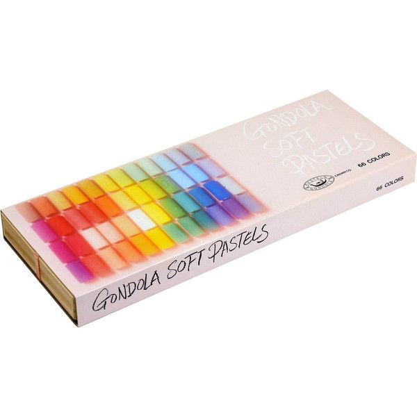 王冠化学工業所 ゴンドラパステル66色セット 214912(直送品)