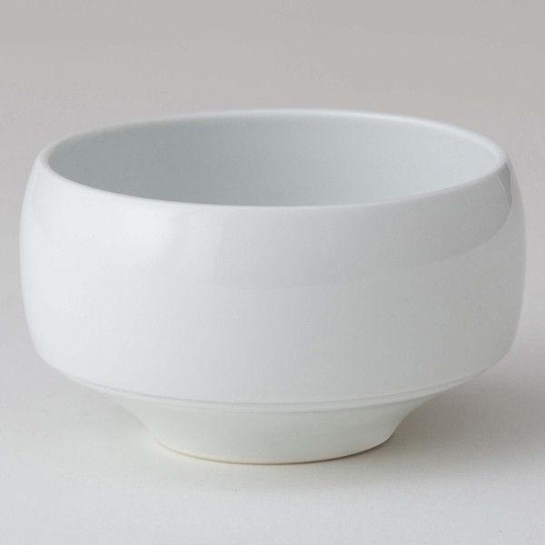 西海陶器 haku碗 白練 18168 2個 (直送品)