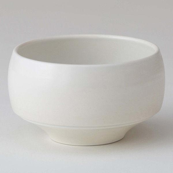 西海陶器 haku碗 胡粉 18171 2個 (直送品)