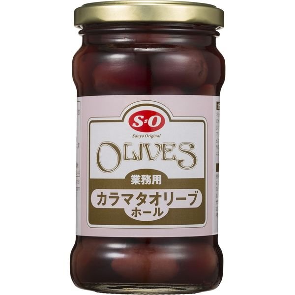 讃陽食品工業 カラマタオリーブホール 33832 300g瓶×3本(直送品)