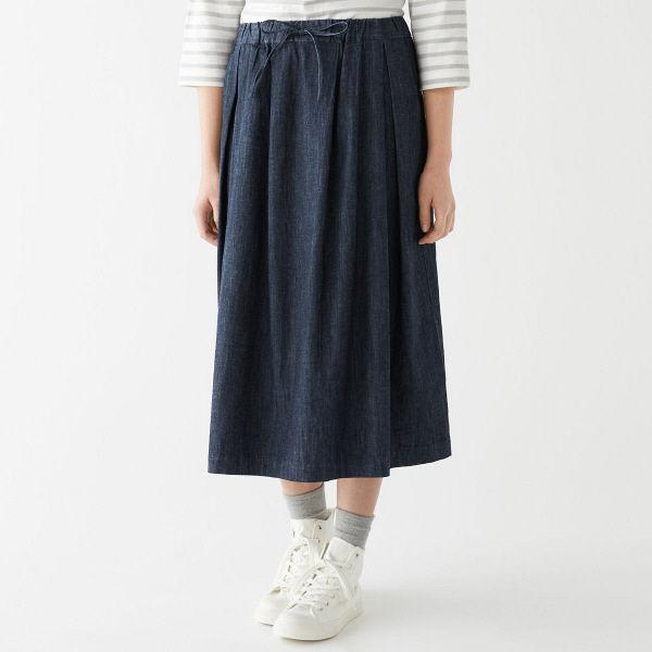 無印 イージーギャザースカート 婦人 S