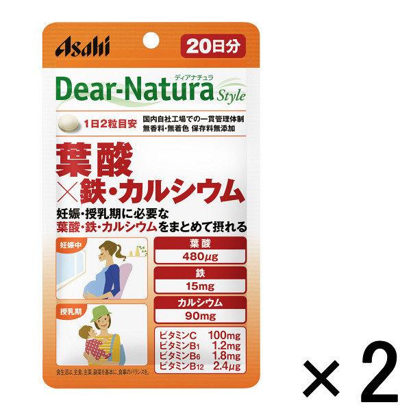 DNスタイル 葉酸×鉄・カルシウム 2袋
