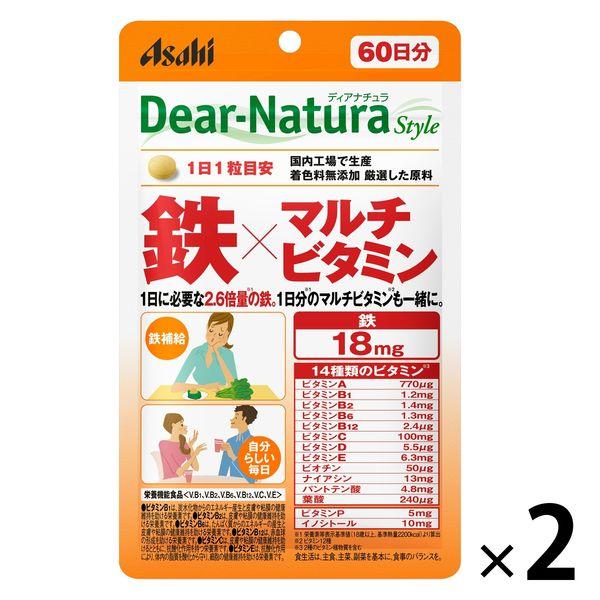 DNスタイル 鉄×MV 60日分 2袋