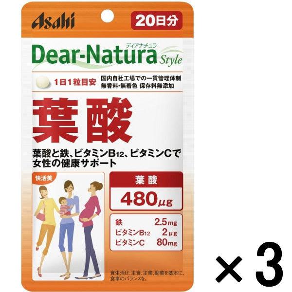 DNスタイル 葉酸 20日分 3袋