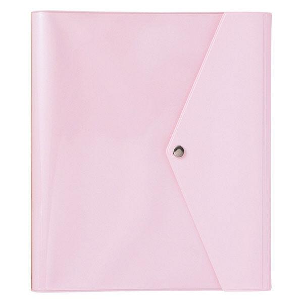 ベビーアルバム ポケット付カバー ピンク