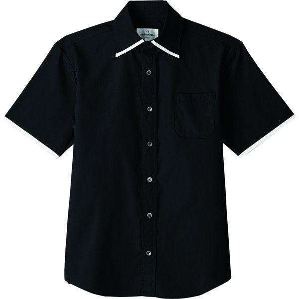 シャツ(半袖) 兼用 ブラック 3L