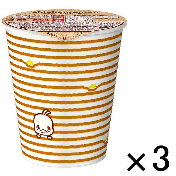 日清チキンラーメンカップ 3食