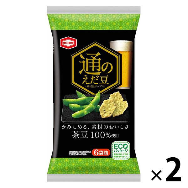 亀田製菓 通のえだまめ 2袋