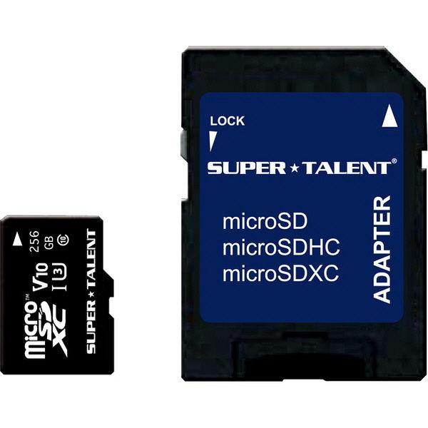 SuperTalent UHS-I microSDXCメモリーカード 25 ST56MSU1P(直送品)