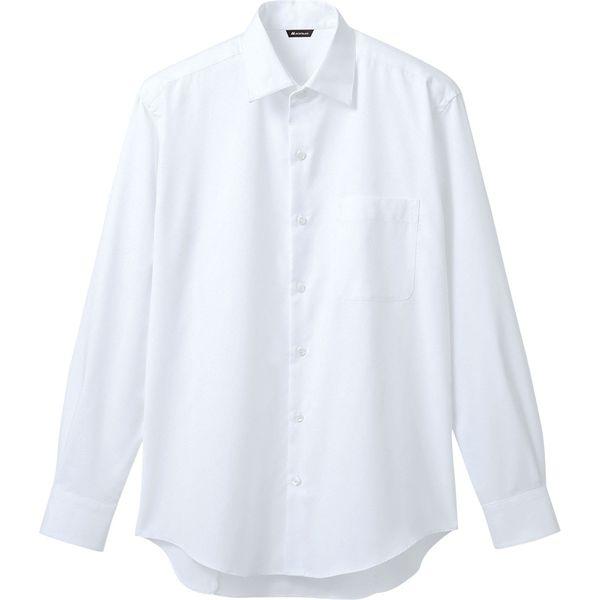 住商モンブラン MONTBLANC(モンブラン) シャツ メンズ 長袖 白 S BF2571-2(直送品)