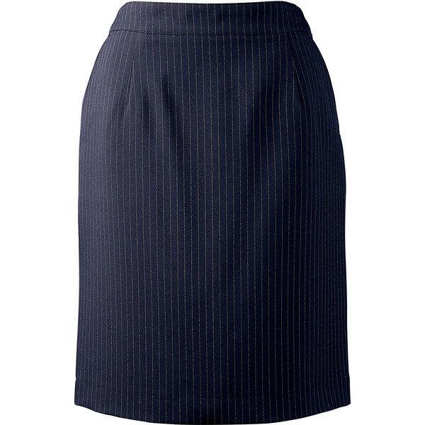 住商モンブラン MONTBLANC(モンブラン) スカート ネイビーストライプ 9号 BN7201-9(直送品)