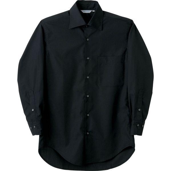 住商モンブラン MONTBLANC(モンブラン) シャツ 兼用 長袖 黒 M BS2541-1(直送品)