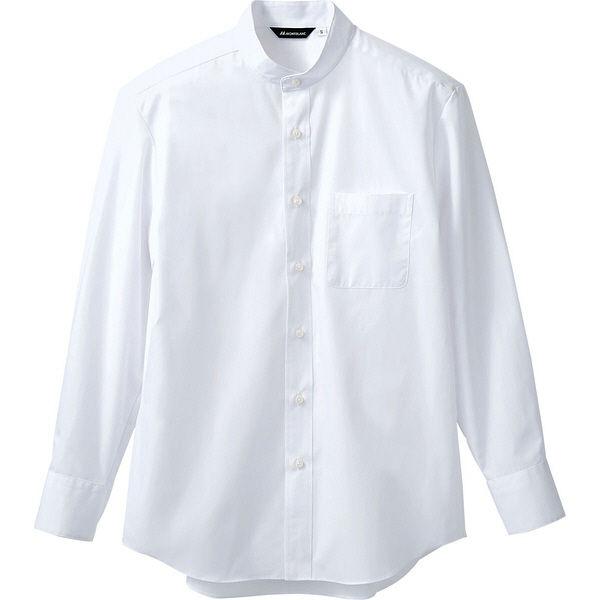 住商モンブラン MONTBLANC(モンブラン) シャツ 兼用 長袖 白 LL BS2591-2(直送品)