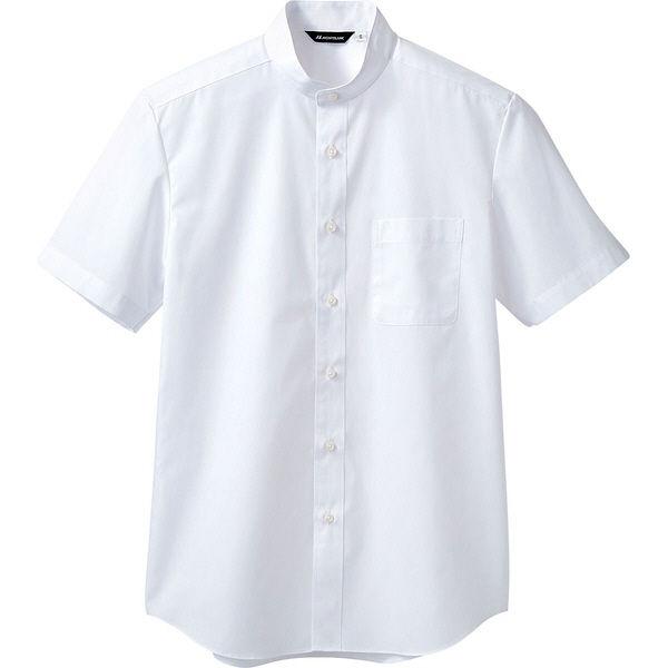 住商モンブラン MONTBLANC(モンブラン) シャツ 兼用 半袖 白 5L BS2592-2(直送品)